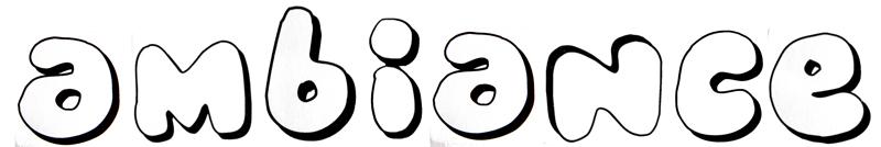 typographie ambiance gourmande